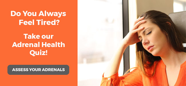 Adrenal Health Quiz Call To Action