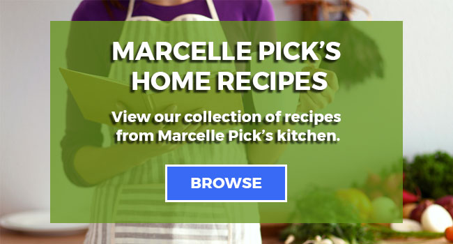 Marcelle's Recipes Call To Action