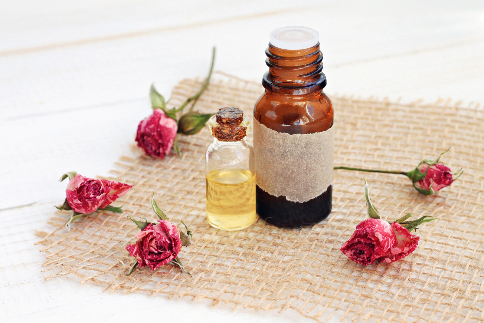 Rose Essential Oils for Hormones
